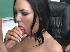 Brown-haired Megan Foxxx Getting Hardcored By Hard Dicked Fuck Friend