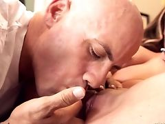 Brown-haired And Her Hot Fuck Pal Are In The Mood For Fucking