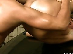 Blonde Gets Satisfaction With Boy's Love Wand In Her Sweet Mouth