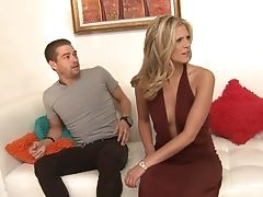 Blonde Is On Fire In Xxx Act With Hard Cocked Dude