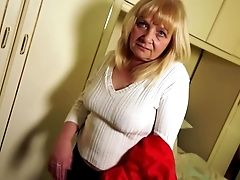 Petite Granny First-ever Time On Web Cam