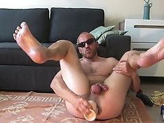 Perfoming On Cam4 (trio) - Hot Fuck Stick Display