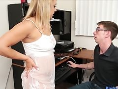 Philavise- Dude Gets A Beeg From Stepsis While Playing Vid Games