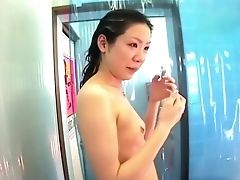 Hidden Cam - China. Bathrooms At Beach