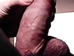 Pale Guy Teases His Thick Wang And Huge Balls
