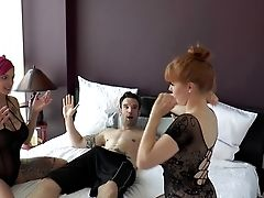 Behind The Scenes 3some Anna Belle Peaks, Penny Pax &amp, Alex Legend Part Three