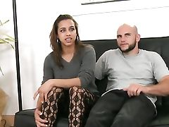 Dark-haired Senorita Jmac With Mouth-watering Breasts And Trimmed Cunt Cant Stop Sucking In Insane Oral Activity With Horny Bang Acquaintance
