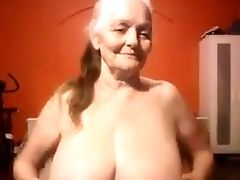 This Granny Looks Supreme For Her Age And She Likes To Showcase Off Her Large Globes