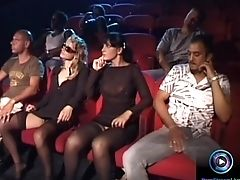 Erica, Andrea, Jean And Luna Lombardi Fucking
