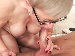 Matures With Fleshy Tits Gets The Mouth Fuck Of Her Wishes With Hard Cocked Bang Acquaintance