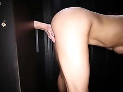 Gloryhole Secrets Fiery Fit Redhead Alexa Swallowing Cum