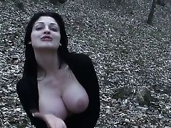 Marvelous Breezy Aletta Ocean Sucking A Dick And Eating Jizm Outdoors