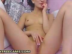 18yo Japanese Teenager Loves Fingerblasting Cooter And Bootie