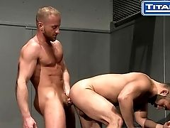 Big-dicked Hairy Latino Gets Face Fucked