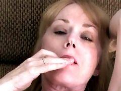 Melanie Leaking Cum!