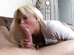 Levi Cash Inspects The Depth Of Flirtatious Nikita Von Jamess Gullet With His Schlong