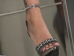 Behind The Scenes Of Interracial Foot Fuck-fest With A Gorgeous Honey