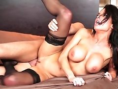 Black-haired Hooker Veronica Avluv Bj's Like There's No Tomorrow In Steamy Oral Activity With Hard Dicked Fuck Pal Seth Gamble