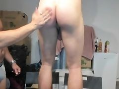 Sexy Lengthy Big Ball Sack Doing Naked Squats ! With Brilliant View!