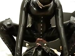 Pussy-smothering, Salivating, Rimming