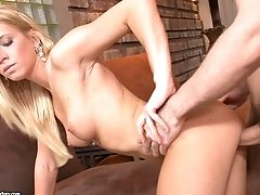 Blonde Kiara Lord  Gets Her Clean Bald Snatch Fucked